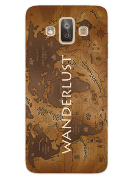 Wanderlust Traveler Globe Trotter Samsung Galaxy J7 Duo Mobile Cover Case