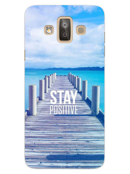 Stay Positive Samsung Galaxy J7 Duo Mobile Cover Case