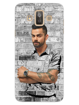 The Wall Of Kohli Samsung Galaxy J7 Duo Mobile Cover Case