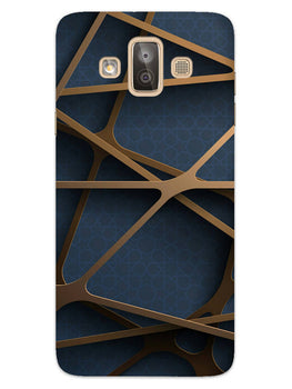 Random Geometry Samsung Galaxy J7 Duo Mobile Cover Case