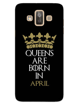 Queens April Samsung Galaxy J7 Duo Mobile Cover Case