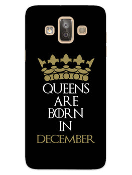 Queens December Samsung Galaxy J7 Duo Mobile Cover Case