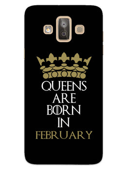 Queens February Samsung Galaxy J7 Duo Mobile Cover Case