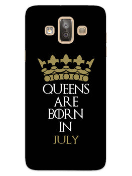 Queens July Samsung Galaxy J7 Duo Mobile Cover Case