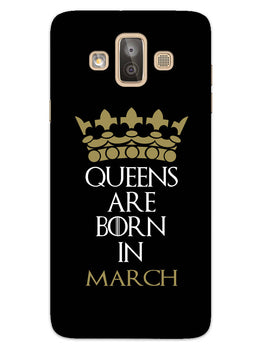 Queens March Samsung Galaxy J7 Duo Mobile Cover Case