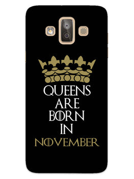 Queens November Samsung Galaxy J7 Duo Mobile Cover Case