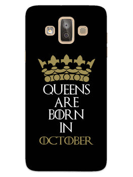 Queens October Samsung Galaxy J7 Duo Mobile Cover Case