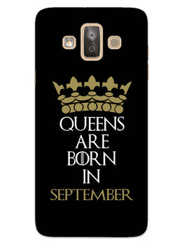 Queens September Samsung Galaxy J7 Duo Mobile Cover Case