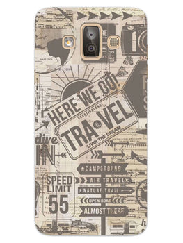 Wanderlust Graffiti Samsung Galaxy J7 Duo Mobile Cover Case