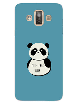 Sleepy Panda Samsung Galaxy J7 Duo Mobile Cover Case