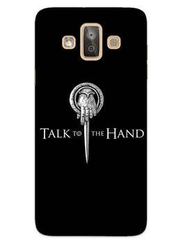 Talk To Hand Samsung Galaxy J7 Duo Mobile Cover Case