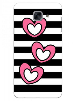 Three Hearts Samsung Galaxy J7 Max Mobile Cover Case
