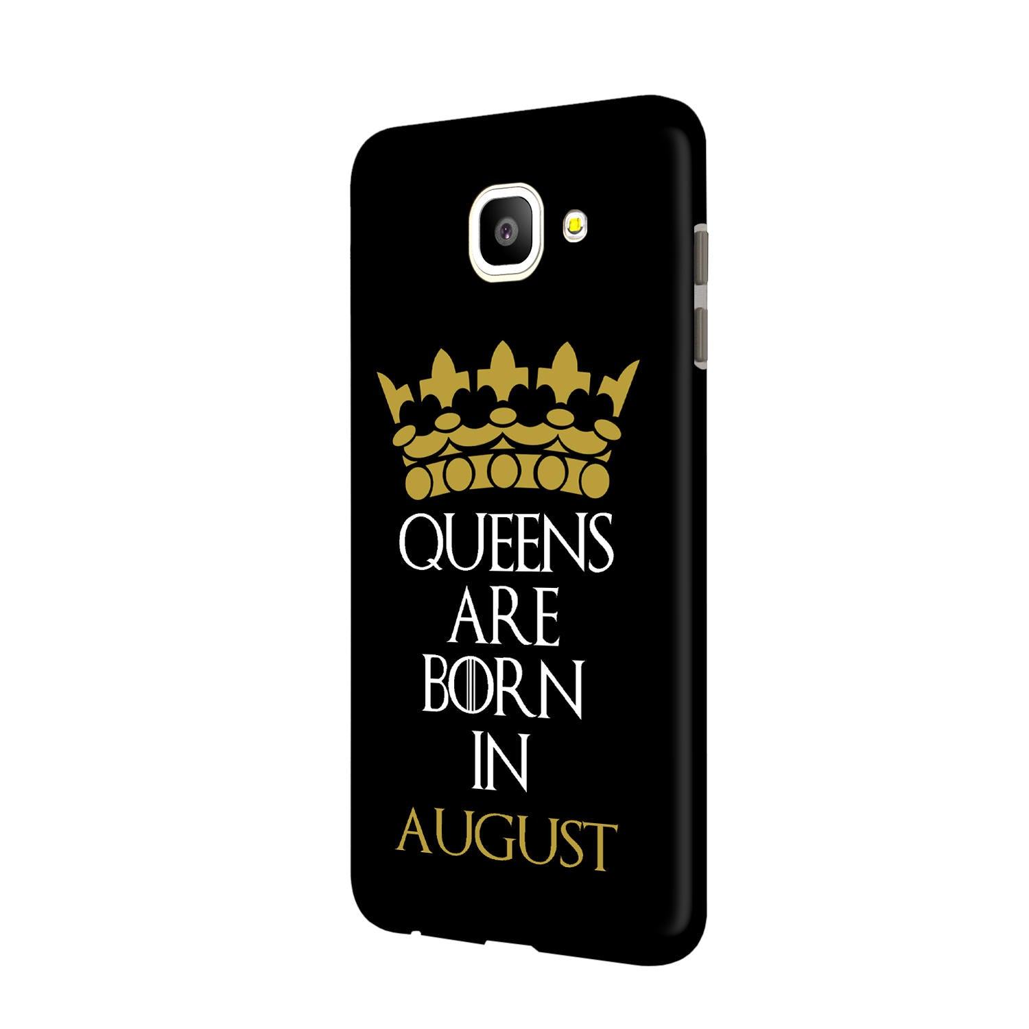 Queens August Samsung Galaxy J7 Max Mobile Cover Case - MADANYU