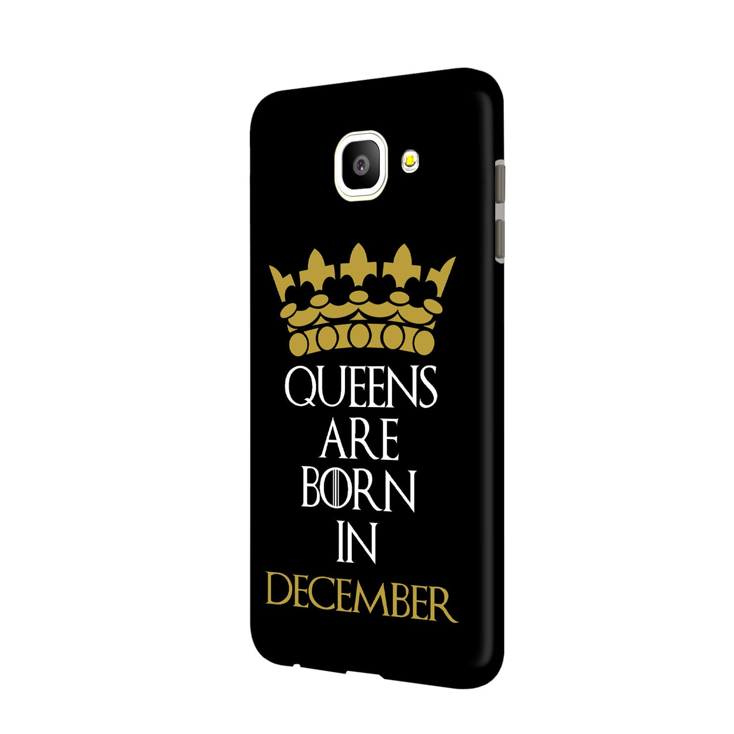 Queens December Samsung Galaxy J7 Max Mobile Cover Case - MADANYU