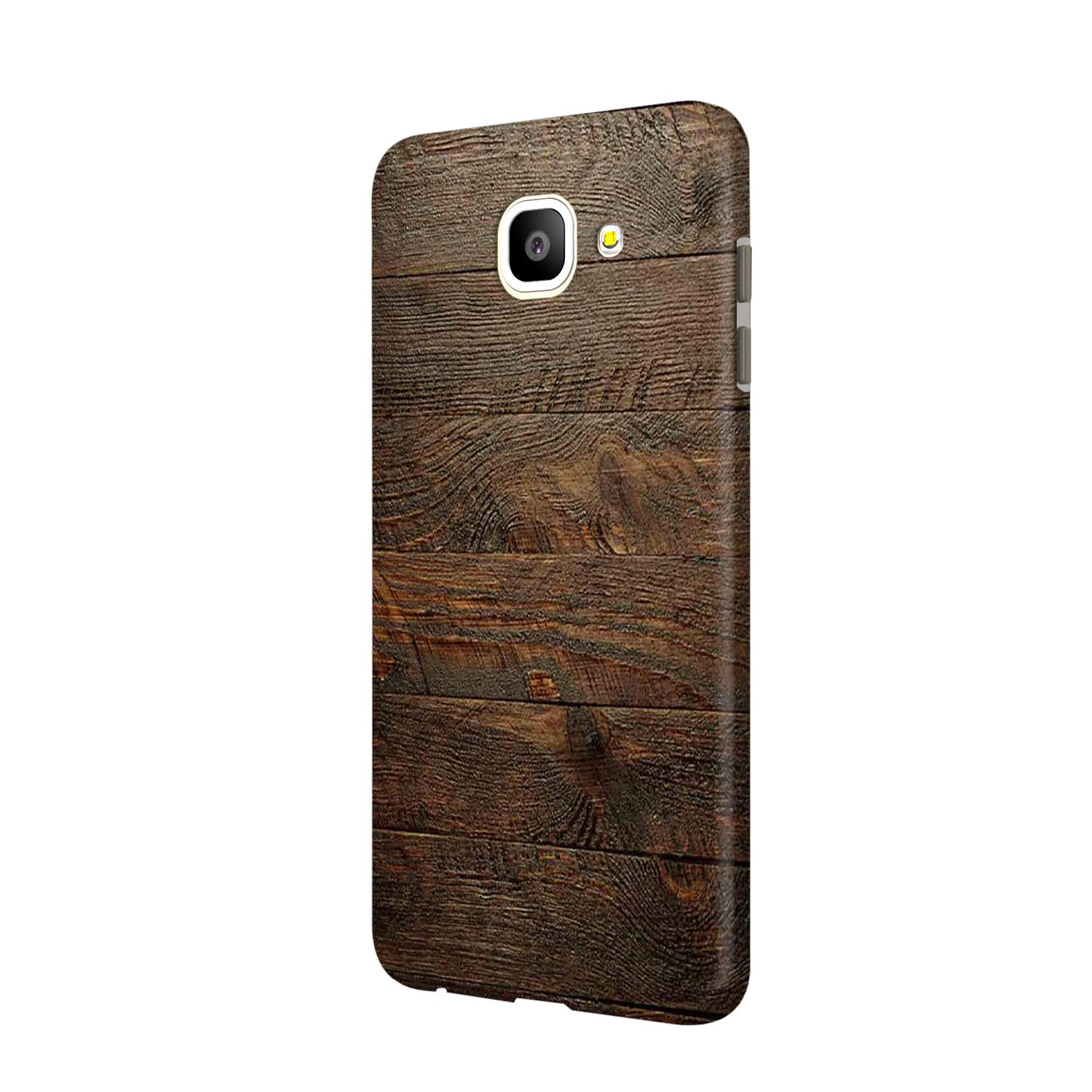 Wooden Wall Samsung Galaxy J7 Max Mobile Cover Case - MADANYU
