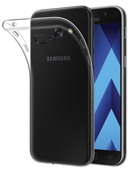 Samsung J7 Prime Transparent Clear Soft TPU Mobile Cover Case