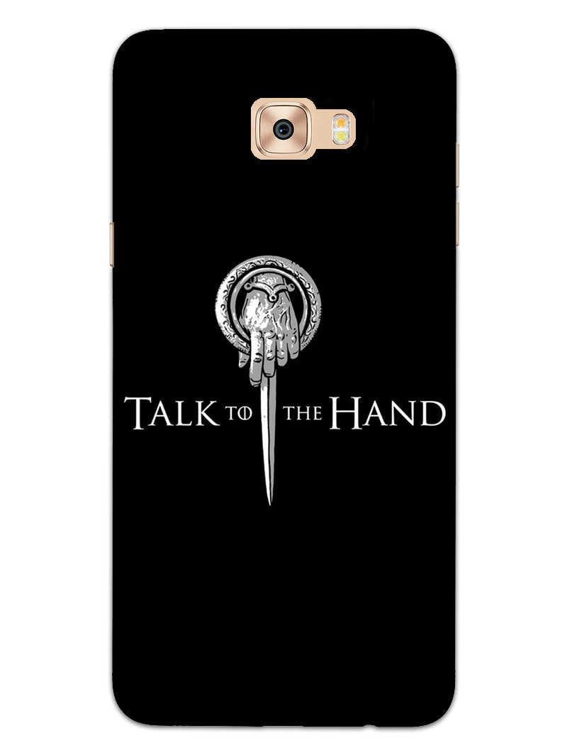 Talk To Hand Samsung Galaxy J7 Prime Mobile Cover Case