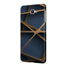 Random Geometry Samsung Galaxy J7 Prime Mobile Cover Case