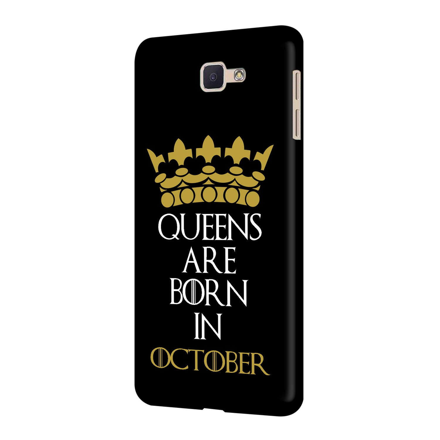 Queens October Samsung Galaxy J7 Prime Mobile Cover Case - MADANYU