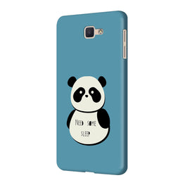 Sleepy Panda Samsung Galaxy J7 Prime Mobile Cover Case