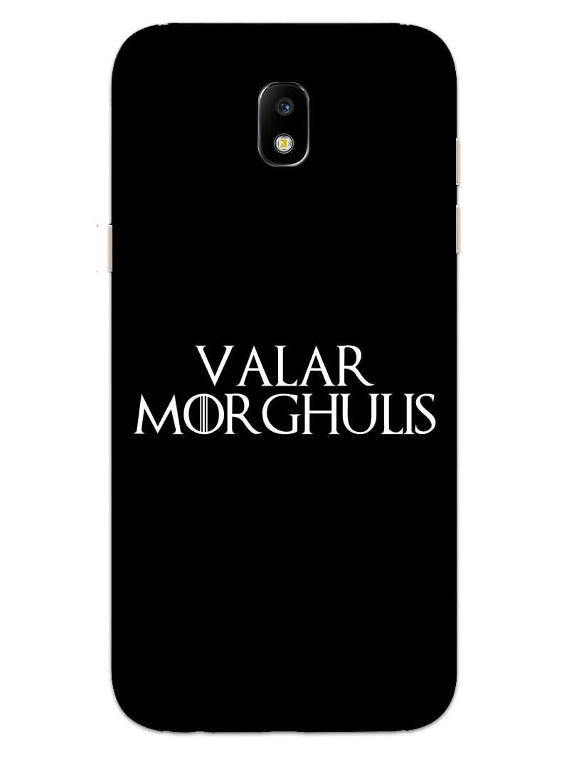 Valar Morghulis Samsung Galaxy J7 Pro Mobile Cover Case - MADANYU