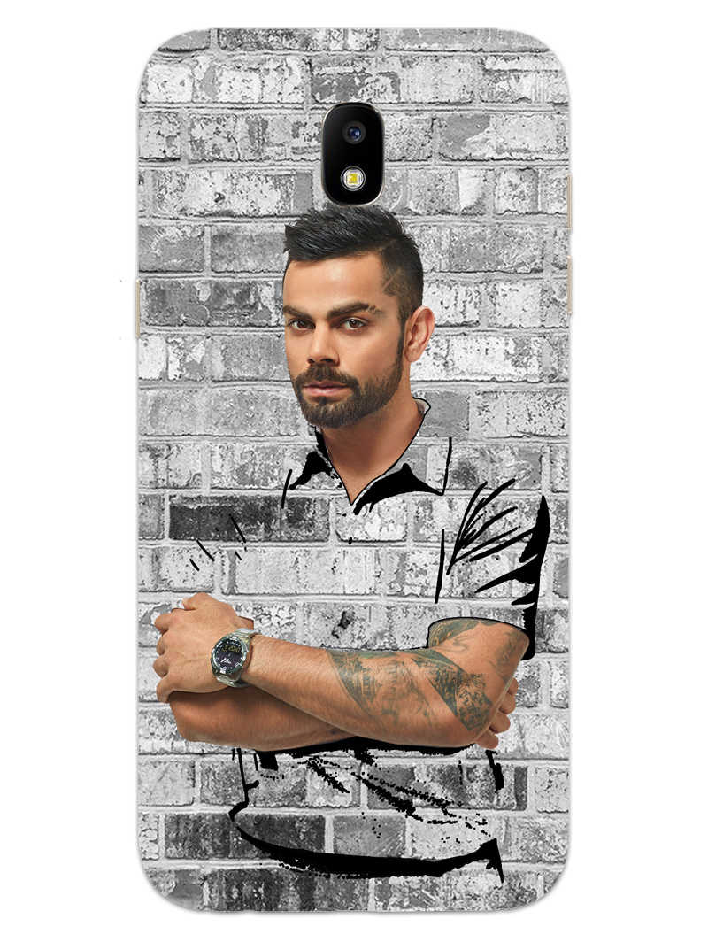 The Wall Of Kohli Samsung Galaxy J7 Pro Mobile Cover Case - MADANYU
