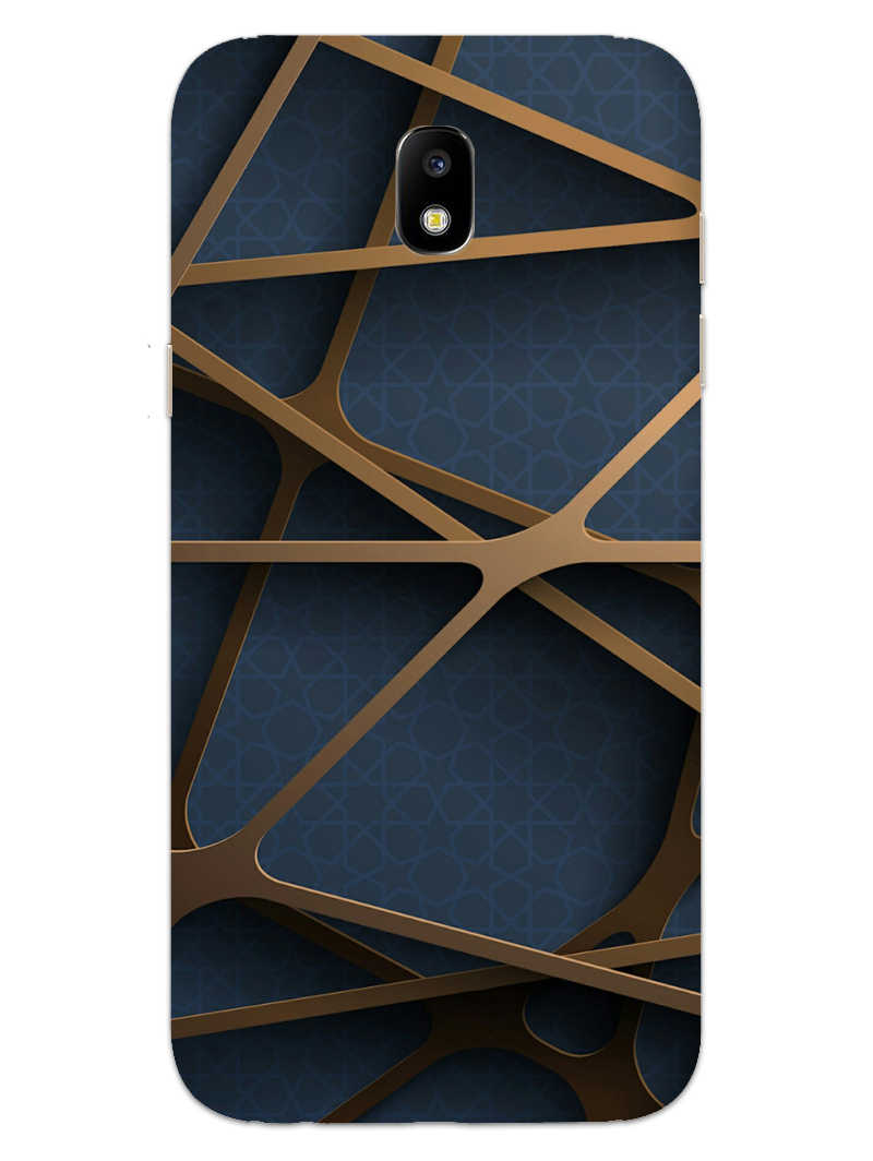 Random Geometry Samsung Galaxy J7 Pro Mobile Cover Case - MADANYU