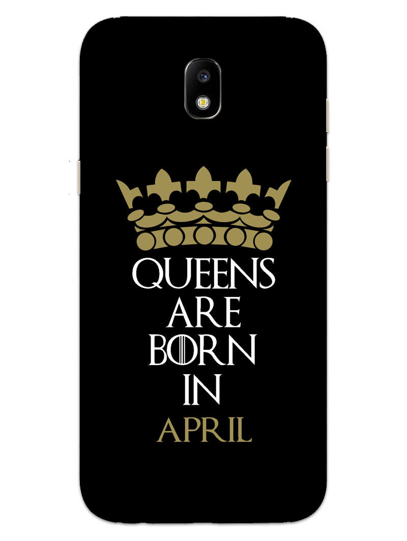 Queens April Samsung Galaxy J7 Pro Mobile Cover Case - MADANYU