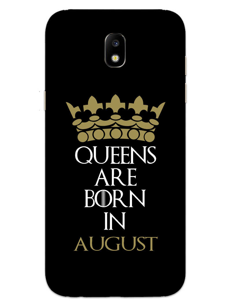 Queens August Samsung Galaxy J7 Pro Mobile Cover Case - MADANYU