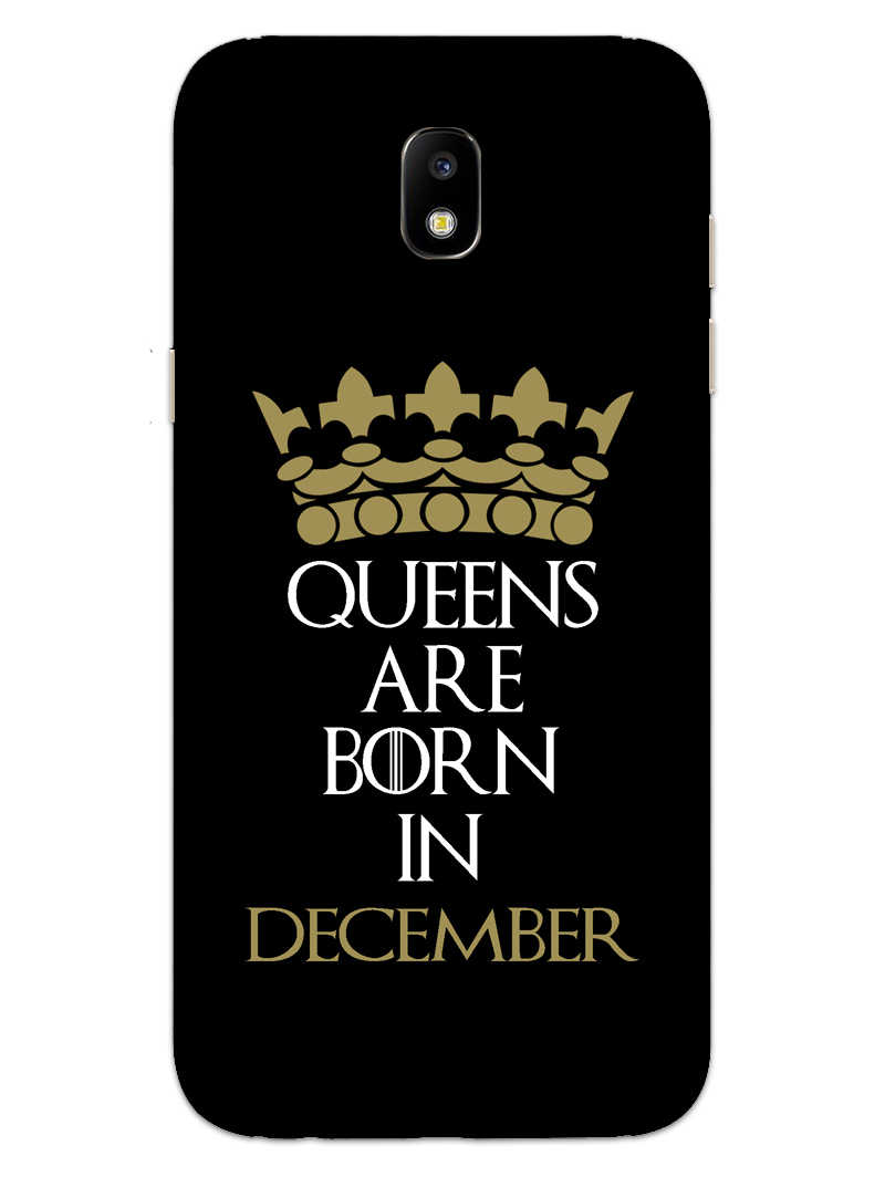 Queens December Samsung Galaxy J7 Pro Mobile Cover Case