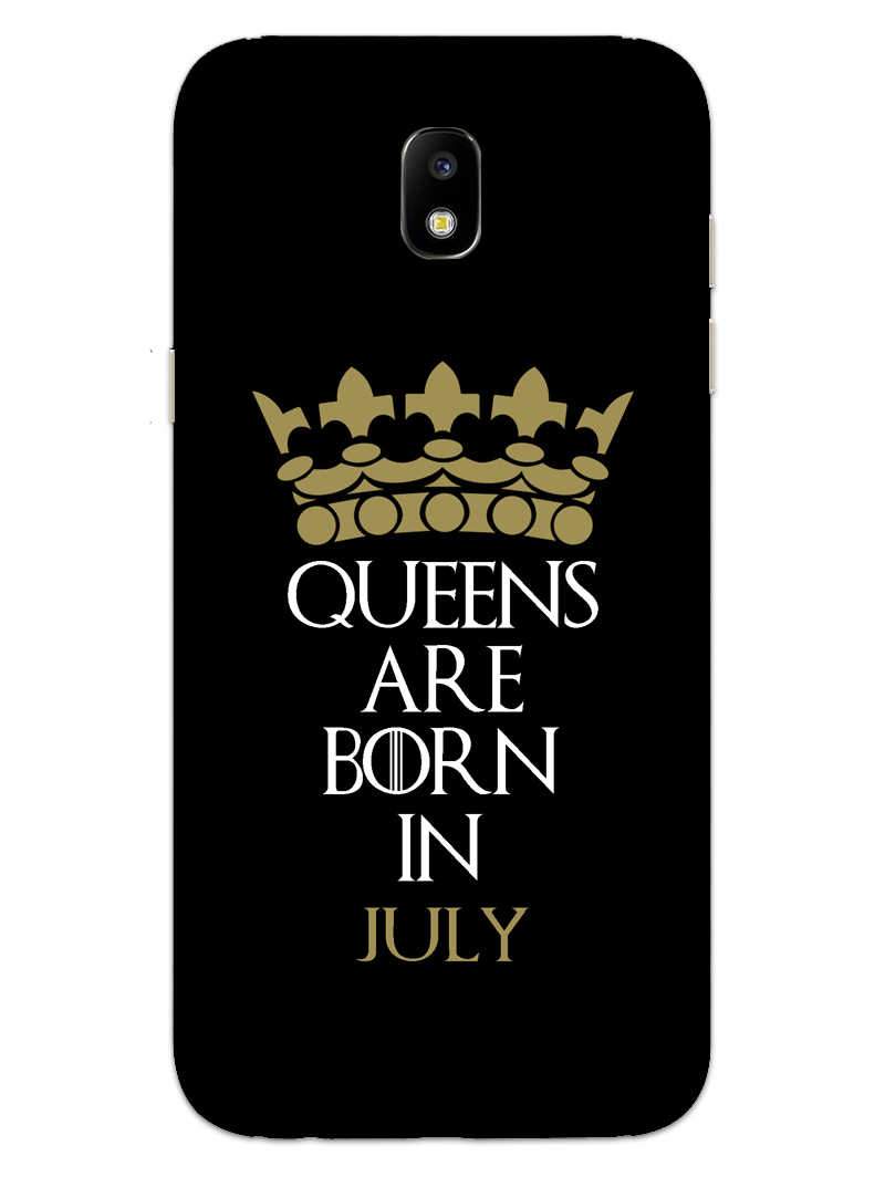 Queens July Samsung Galaxy J7 Pro Mobile Cover Case - MADANYU