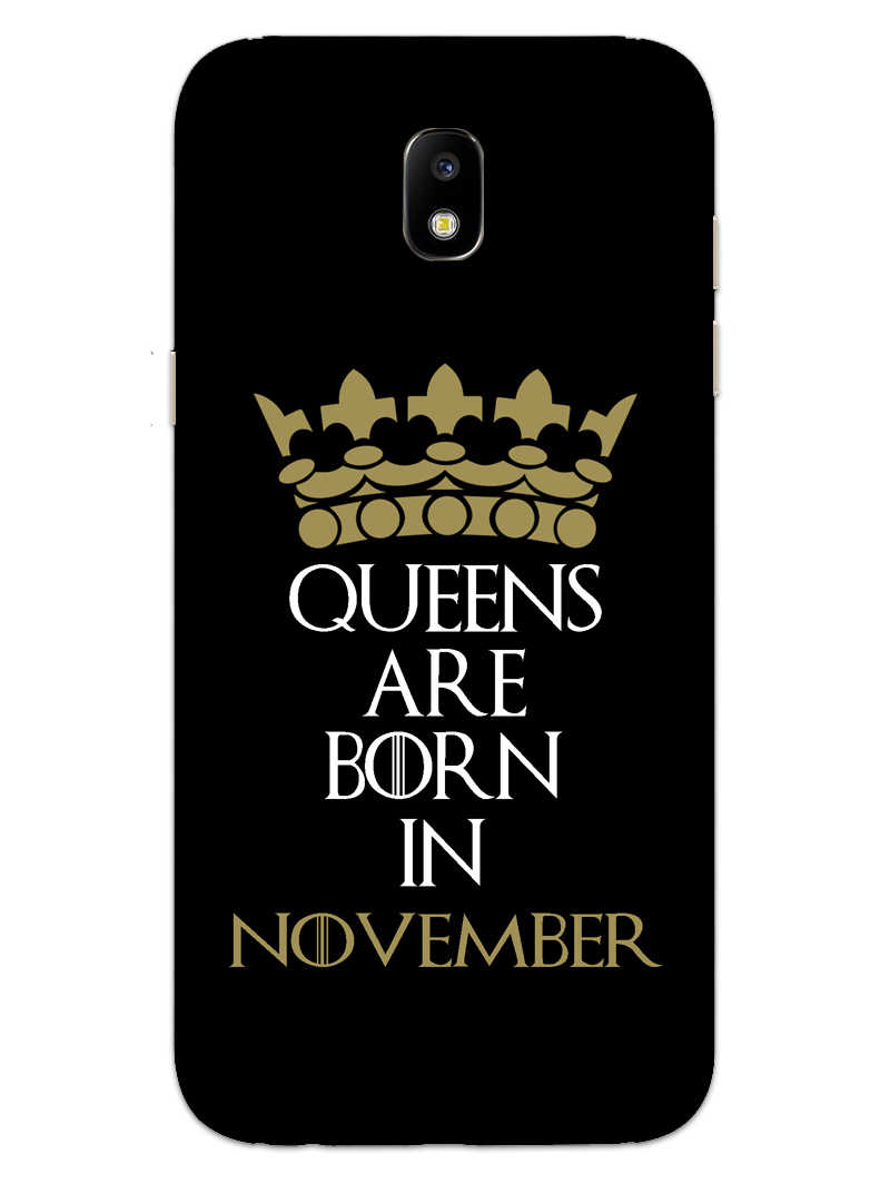 Queens November Samsung Galaxy J7 Pro Mobile Cover Case - MADANYU