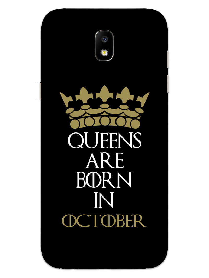 Queens October Samsung Galaxy J7 Pro Mobile Cover Case - MADANYU