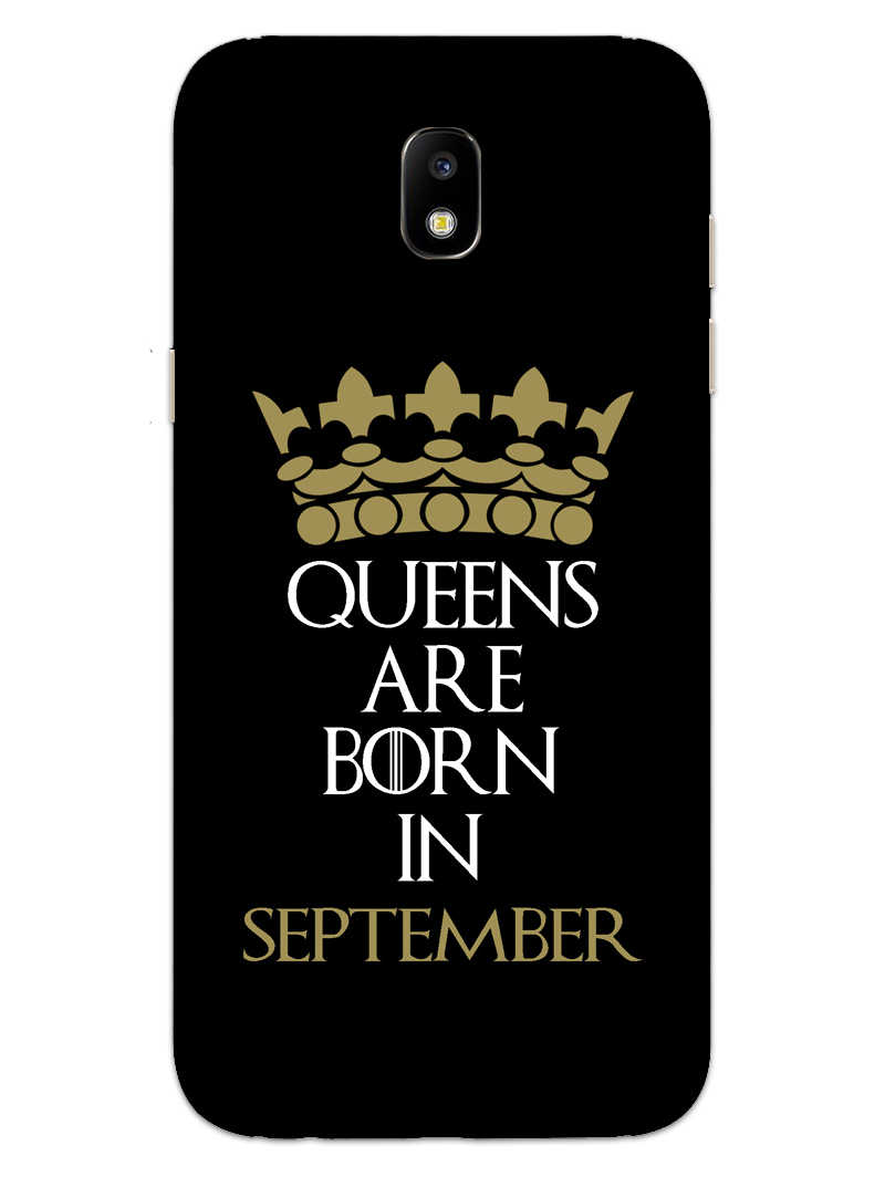 Queens September Samsung Galaxy J7 Pro Mobile Cover Case