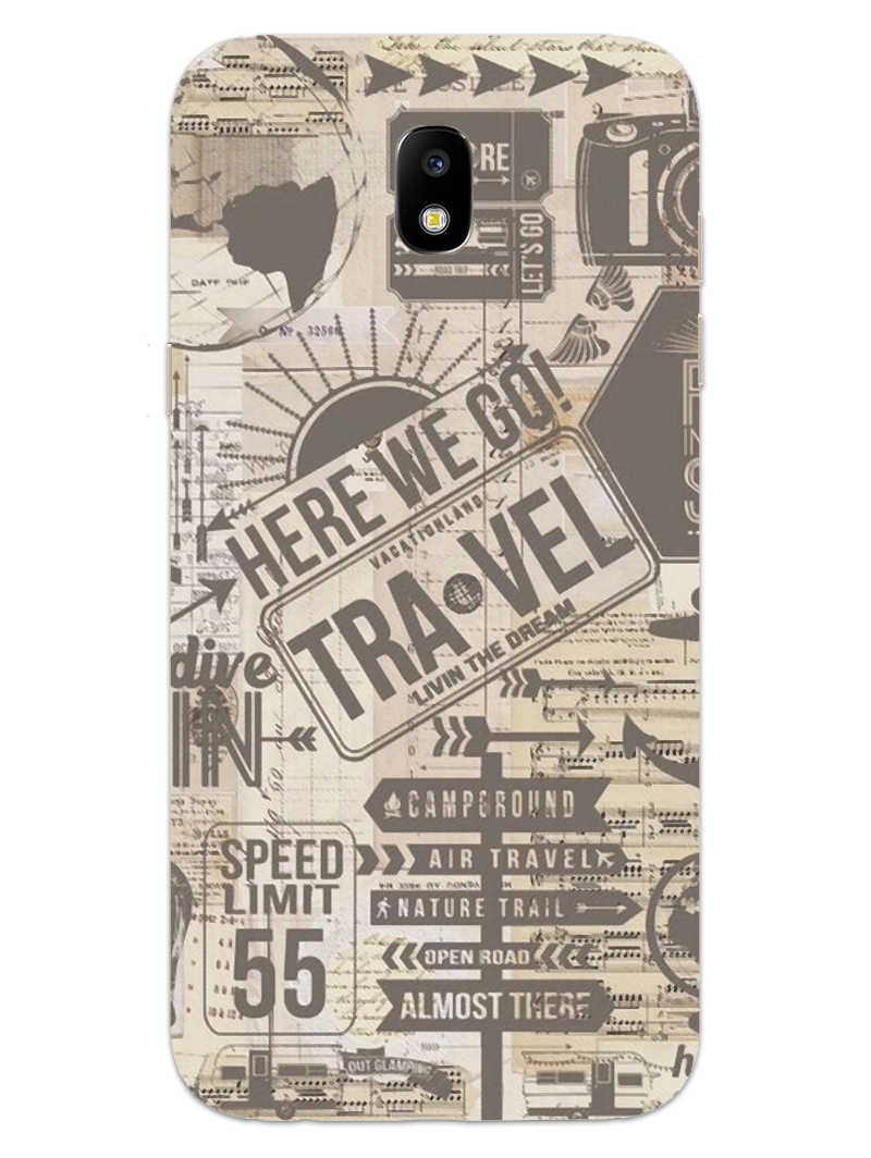 Wanderlust Graffiti Samsung Galaxy J7 Pro Mobile Cover Case - MADANYU