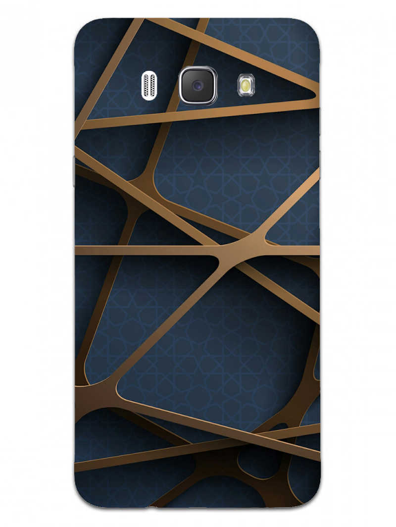 Random Geometry Samsung Galaxy J7 2016 Mobile Cover Case