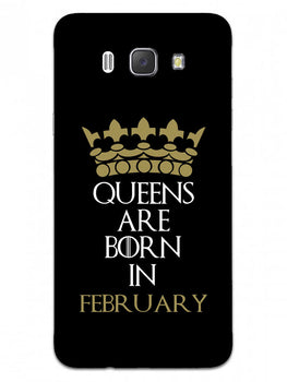 Queens February Samsung Galaxy J7 2016 Mobile Cover Case
