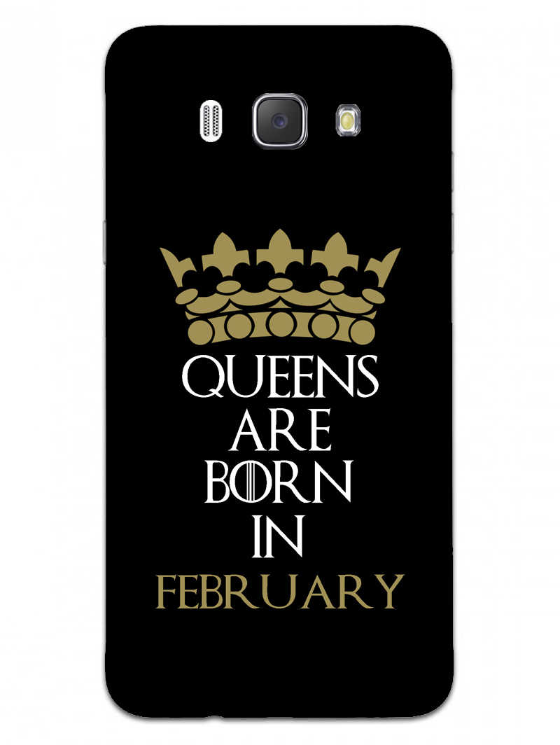 Queens February Samsung Galaxy J7 2016 Mobile Cover Case - MADANYU