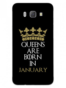 Queens January Samsung Galaxy J7 2016 Mobile Cover Case