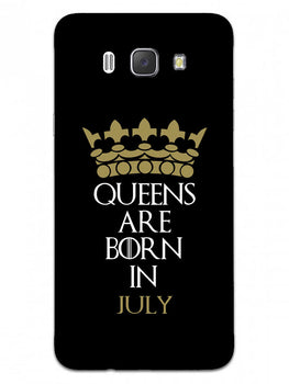 Queens July Samsung Galaxy J7 2016 Mobile Cover Case