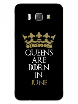 Queens June Samsung Galaxy J7 2016 Mobile Cover Case