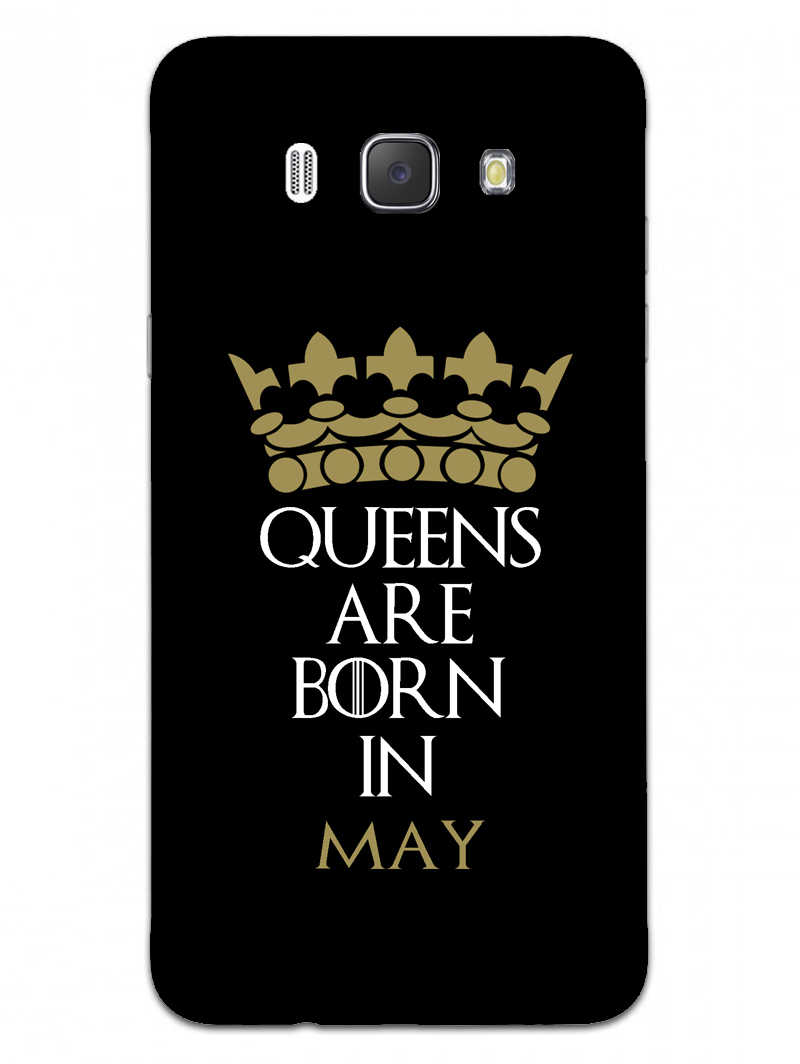 Queens May Samsung Galaxy J7 2016 Mobile Cover Case