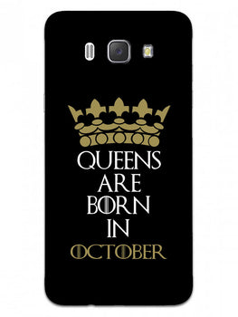 Queens October Samsung Galaxy J7 2016 Mobile Cover Case