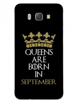 Queens September Samsung Galaxy J7 2016 Mobile Cover Case