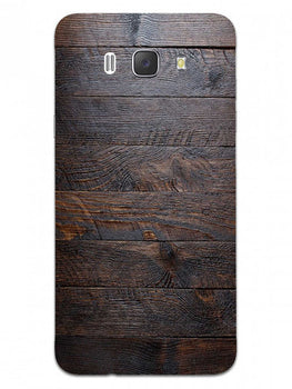 Wooden Wall Samsung Galaxy J7 2016 Mobile Cover Case