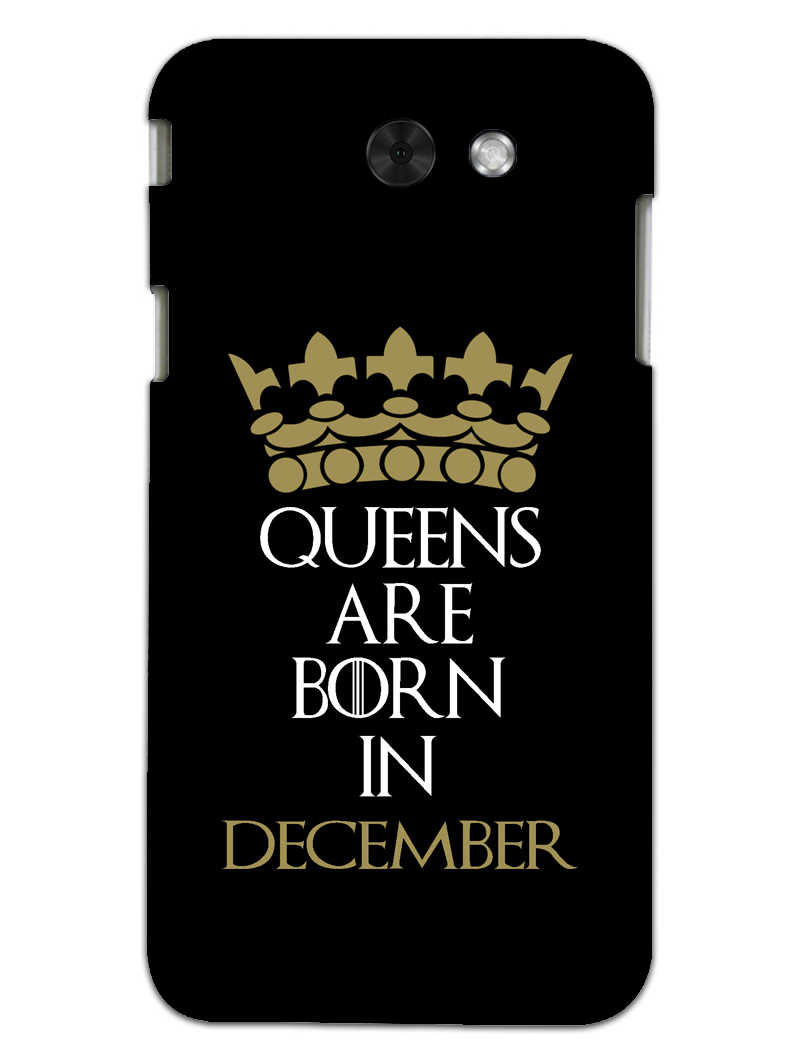 Queens December Samsung Galaxy J7 2017 Mobile Cover Case