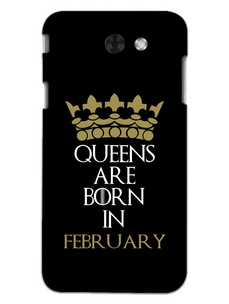 Queens February Samsung Galaxy J7 2017 Mobile Cover Case - MADANYU
