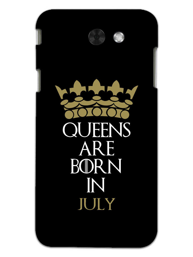 Queens July Samsung Galaxy J7 2017 Mobile Cover Case - MADANYU