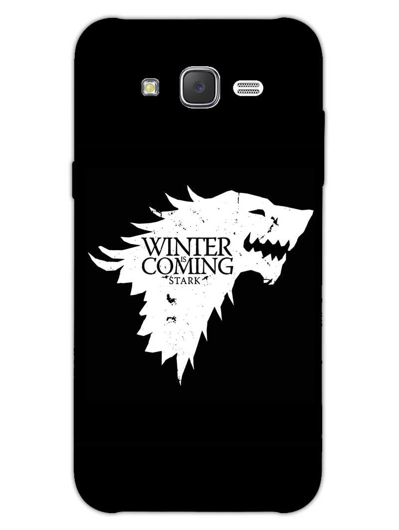 Winter Is Coming Samsung Galaxy J7 2015 Mobile Cover Case - MADANYU