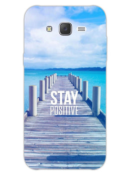 Stay Positive Samsung Galaxy J7 2015 Mobile Cover Case